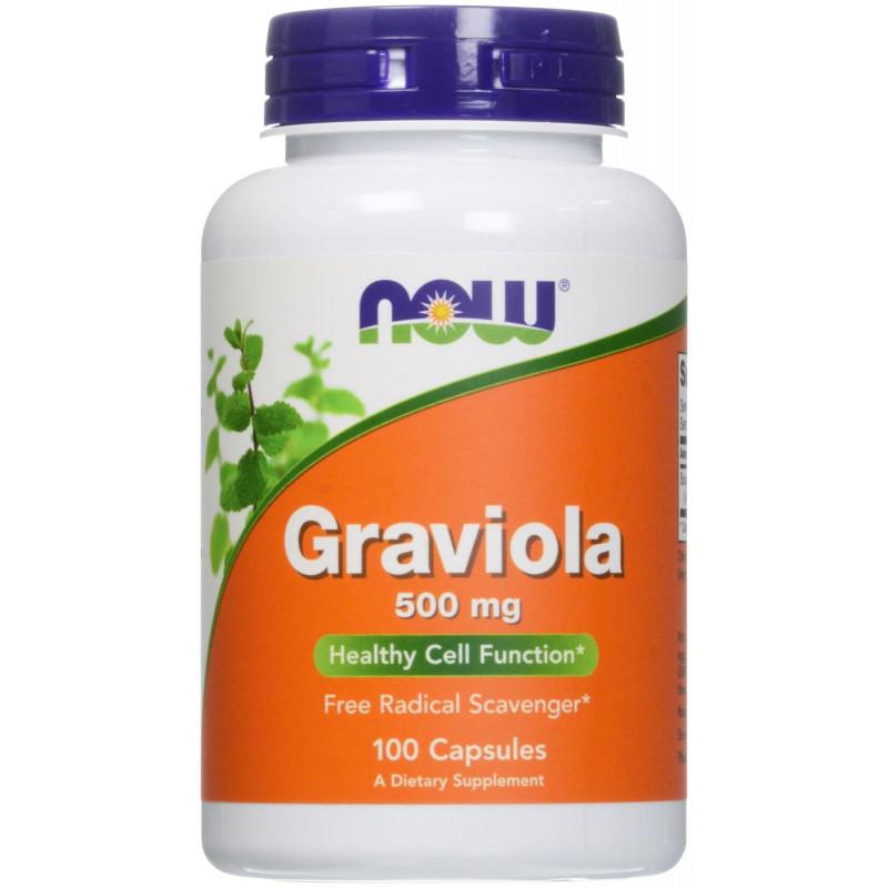 Graviola 500 мг - 100 Капсули