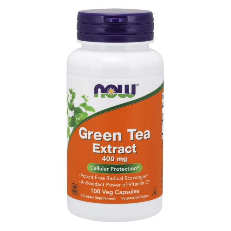 Green Tea Extract 60% 400 мг - 100 Капсули