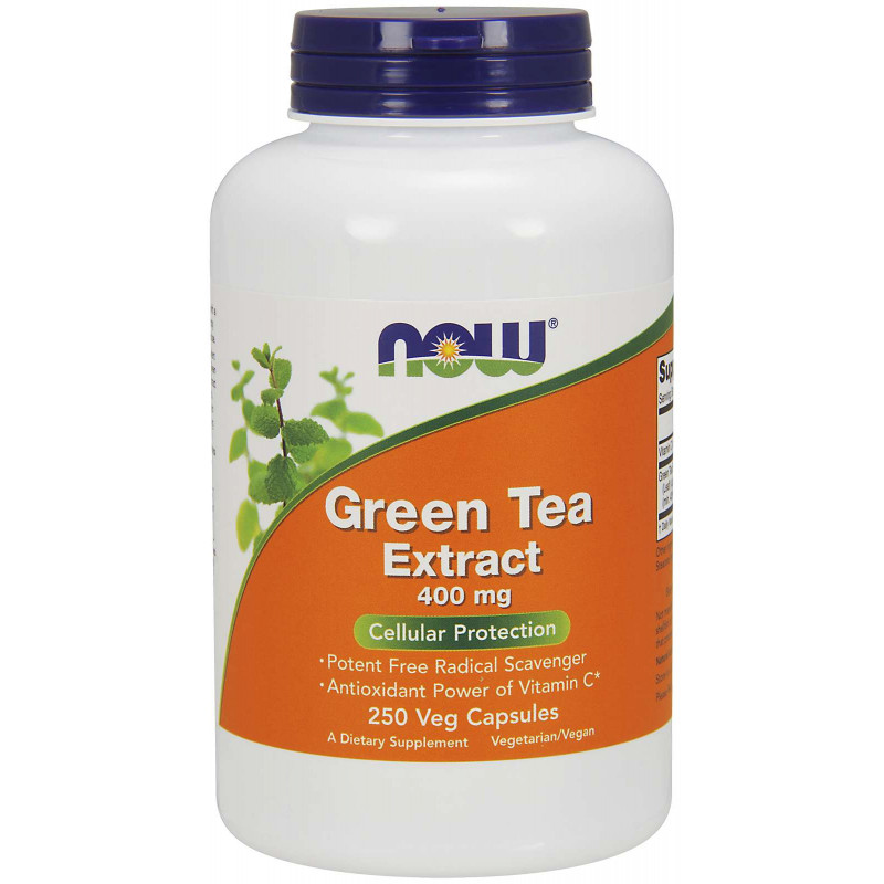 Green Tea Extract 60% 400 мг - 250 Капсули