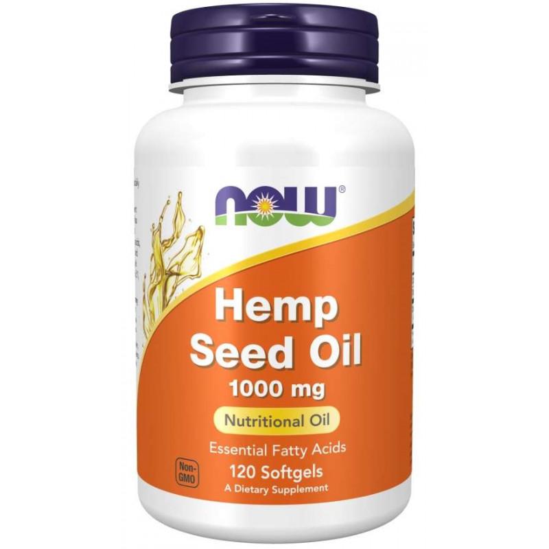 Hemp Seed Oil 1000 mg - 120 дражета