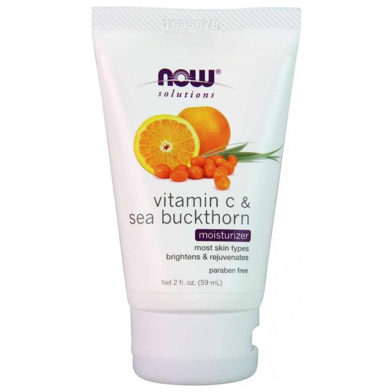 Хидратиращ крем с витамин С и морски зърнастец - Moisturizer Vitamin C & Sea Buckthorn - 59 ml
