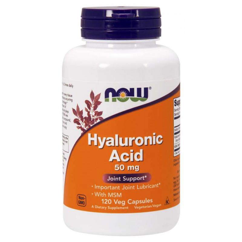 Hyaluronic Acid с MSM 500 мг - 120 Капсули