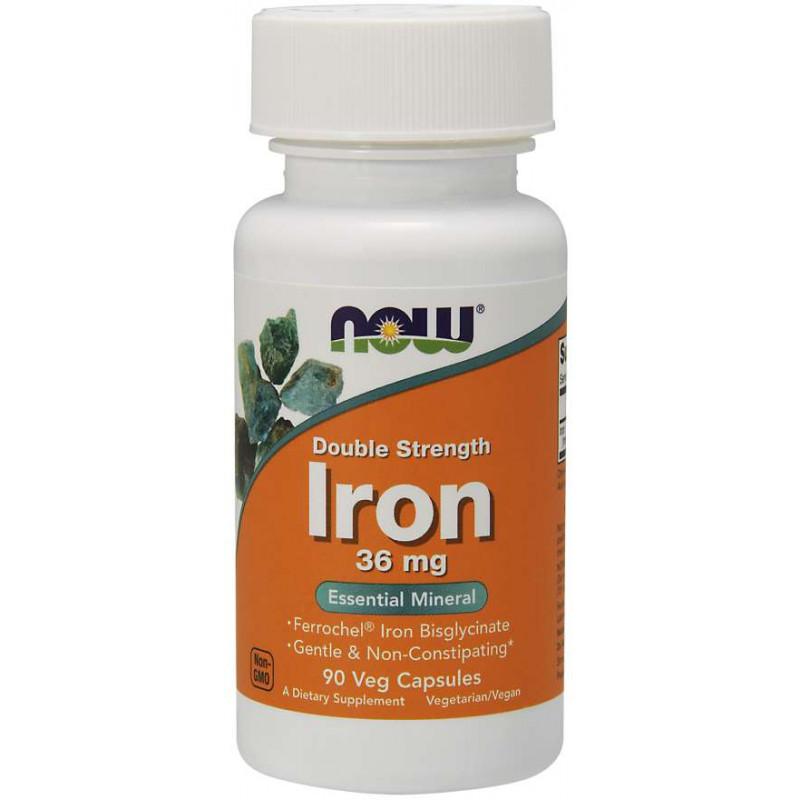Iron 36 mg Ferrochel ( желязо ) - 90 веган капсули