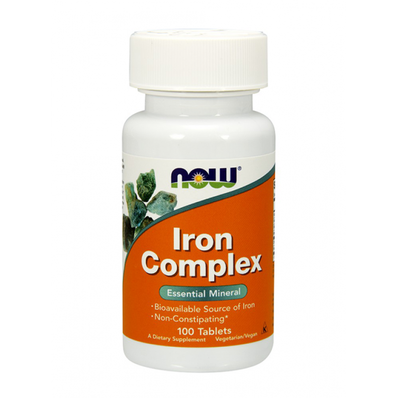 Iron Complex (Желязо) - 100 Таблетки
