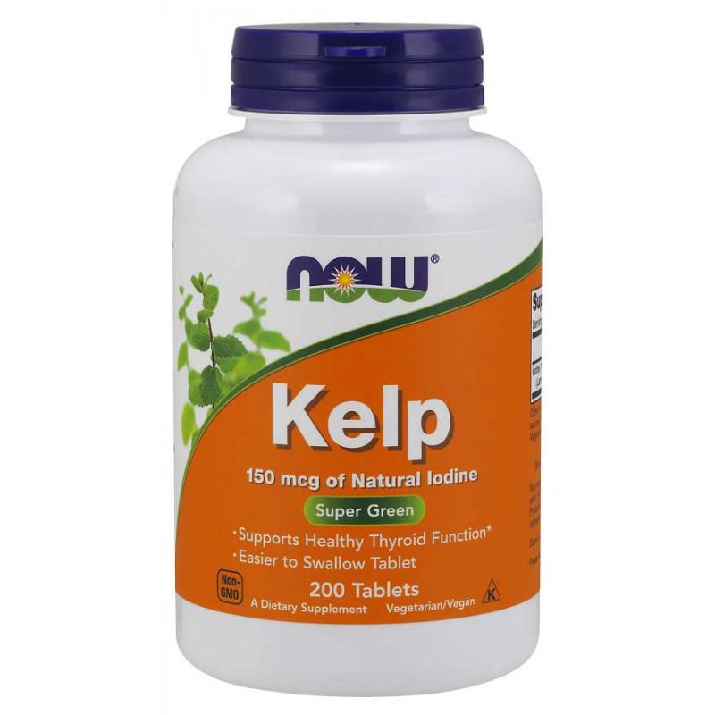 Kelp (Йод) 150 мкг - 200 Таблетки