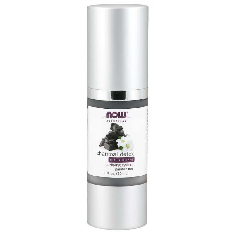 Крем за детоксикация с въглен - Moisturizer Charcoal Detox - 50 ml