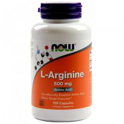 L-Arginine 500 мг  - 100 Капсули
