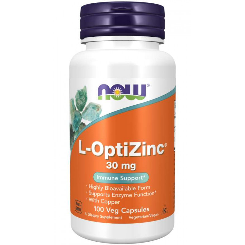 L-OptiZinc 30 мг - 100 Капсули