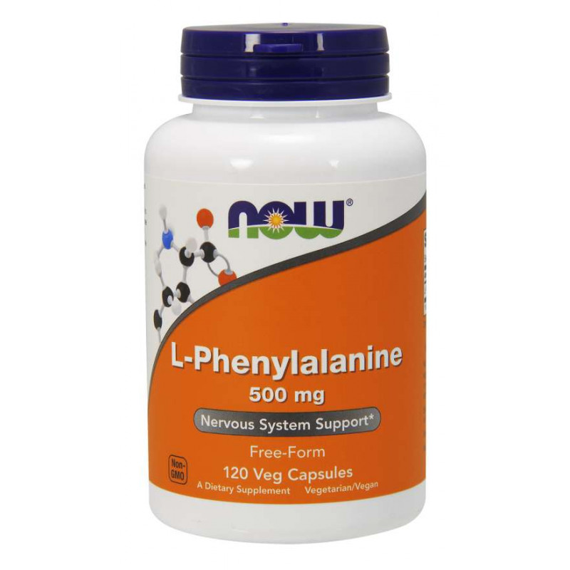 L-Phenylalanine 500 мг - 120 Капсули