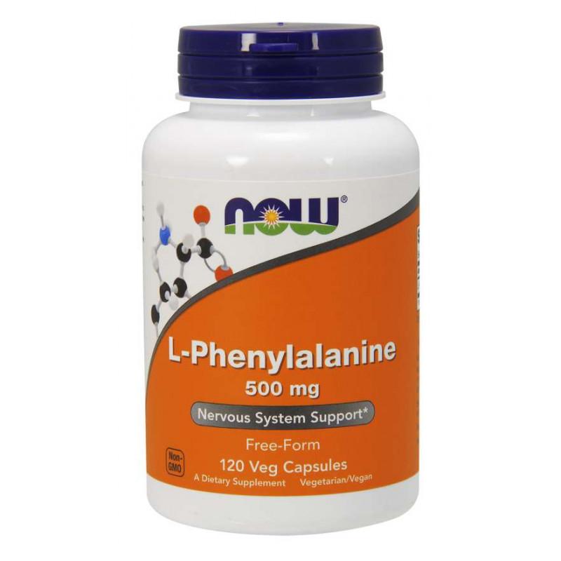 L-Phenylalanine 500 мг - 120 Капсули