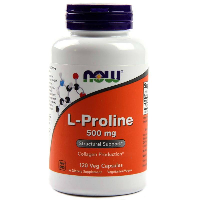 L-Proline 500 мг - 120 Капсули