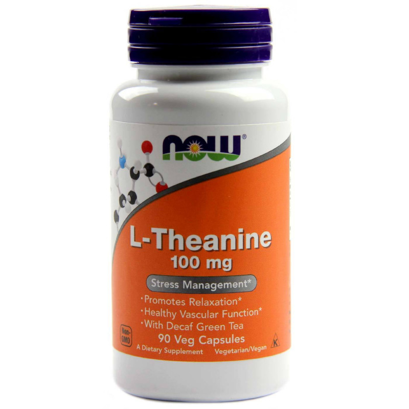 L-Theanine 100 мг - 90 Капсули