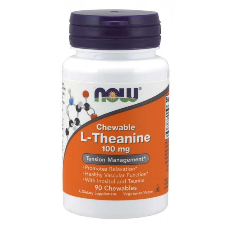 L-Theanine 100 mg Plus - 90 loz