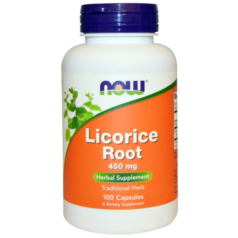 Licorice Root (Сладък корен) 450 мг - 100 Капсули