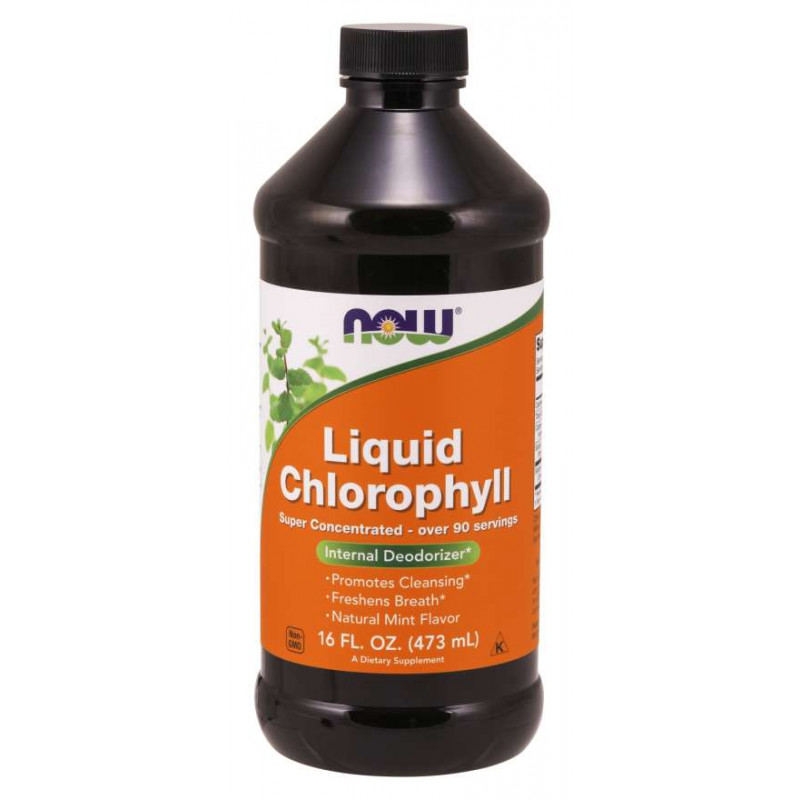 Liquid Chlorophyll & Mint - 473 ml