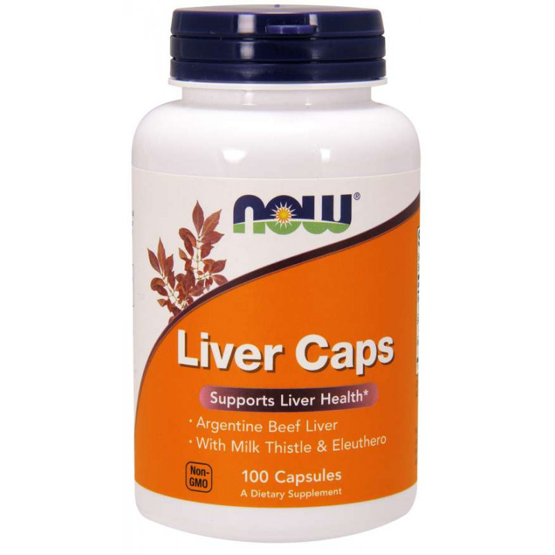 Liver Extract - 100 Capsules