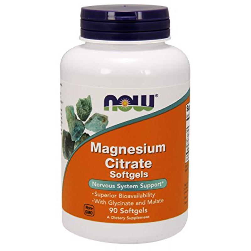 Magnesium Citrate 134 мг - 90 Дражета