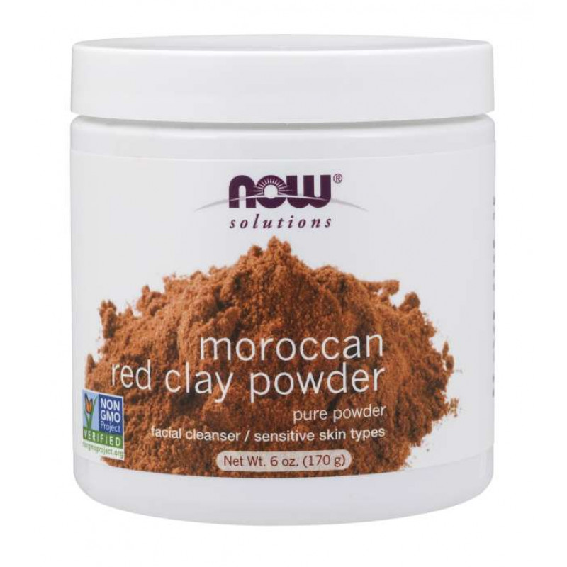 Мароканската червена глина - MOROCCAN RED CLAY POWDER - 170 g