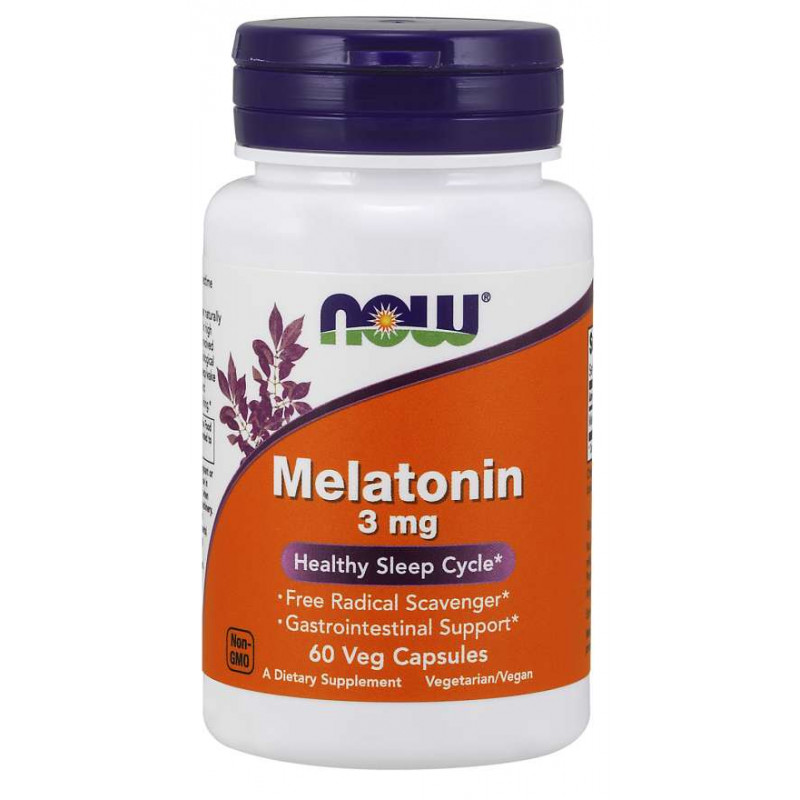 Melatonin 3 мг - 60 Капсули