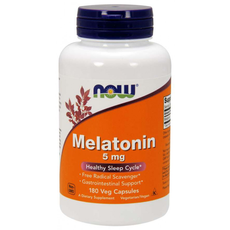 Melatonin 5 мг - 180 Капсули