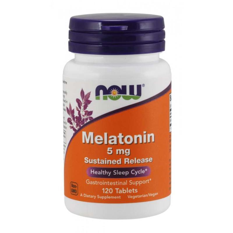 Melatonin 5 мг SR - 120 таблетки