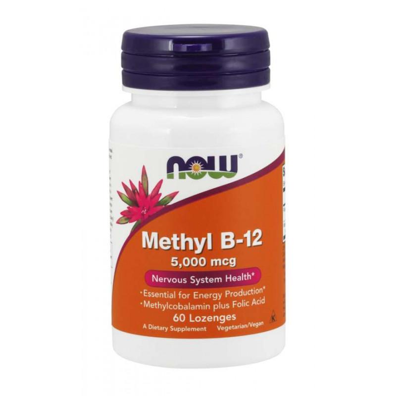 Methyl B-12 5000 мкг - 60 Дражета
