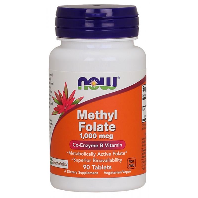 Methyl folate 1,000 mcg - 90 таблеткии