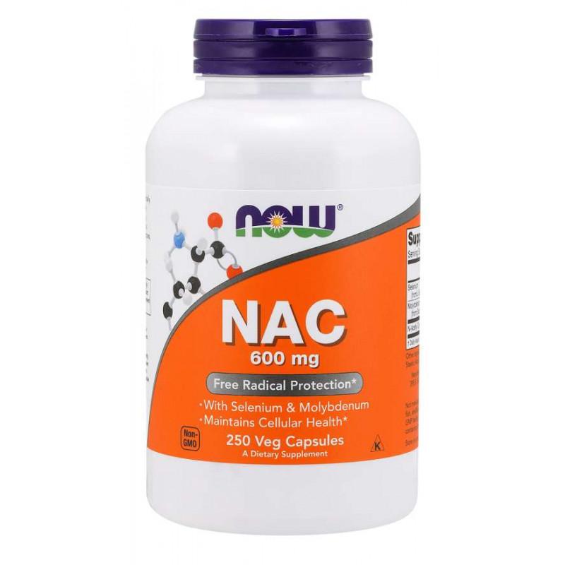 N-Acetyl Cysteine 600 мг - 250 Капсули