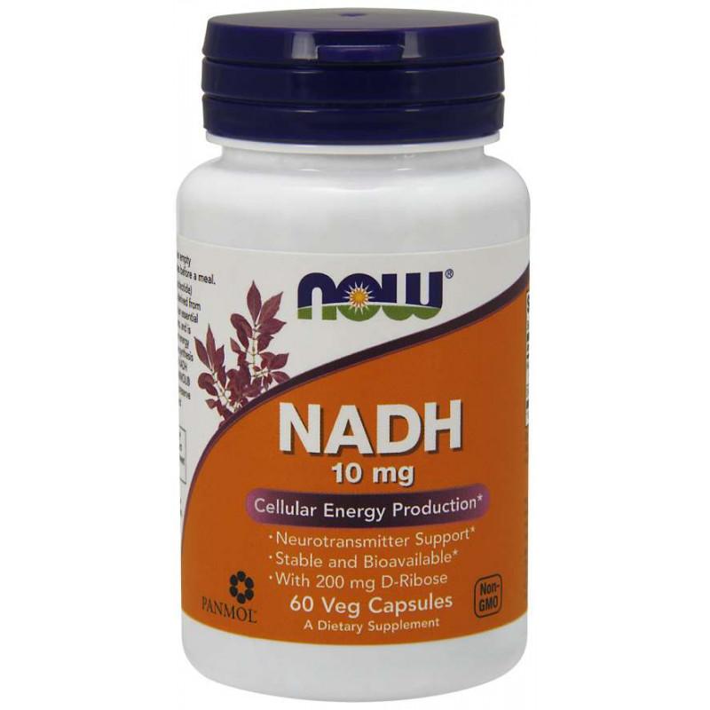 NADH 10 мг + 200 мг Ribose - 60 капсули