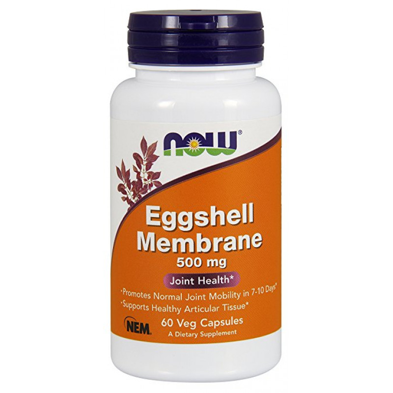 Natural Eggshell Membrane 500 mg - 60 капсули