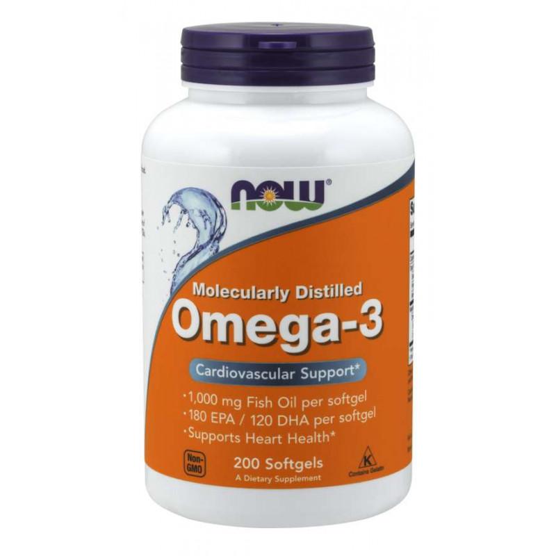 Omega-3 1000 мг - 200 Дражета