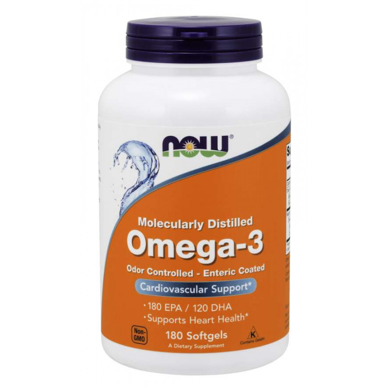 Omega-3 Enteric Coated - 180 дражета