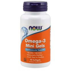 Omega-3 Mini Gels 500 mg - 90 дражета