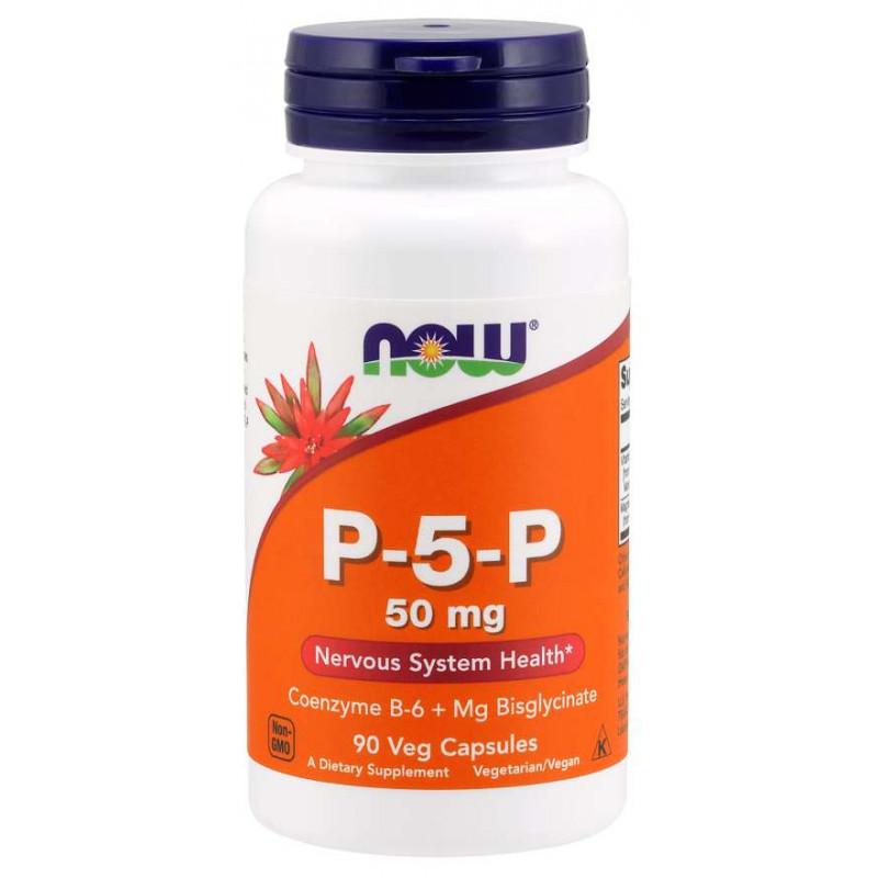 P-5-P Vegetarian (Витамин B-6) 50 мг - 90 капсули