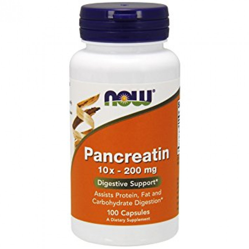Pancreatin 10X 200 мг - 100 Капсули