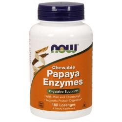 Papaya Enzymes - 180 Дъвчащи Таблетки