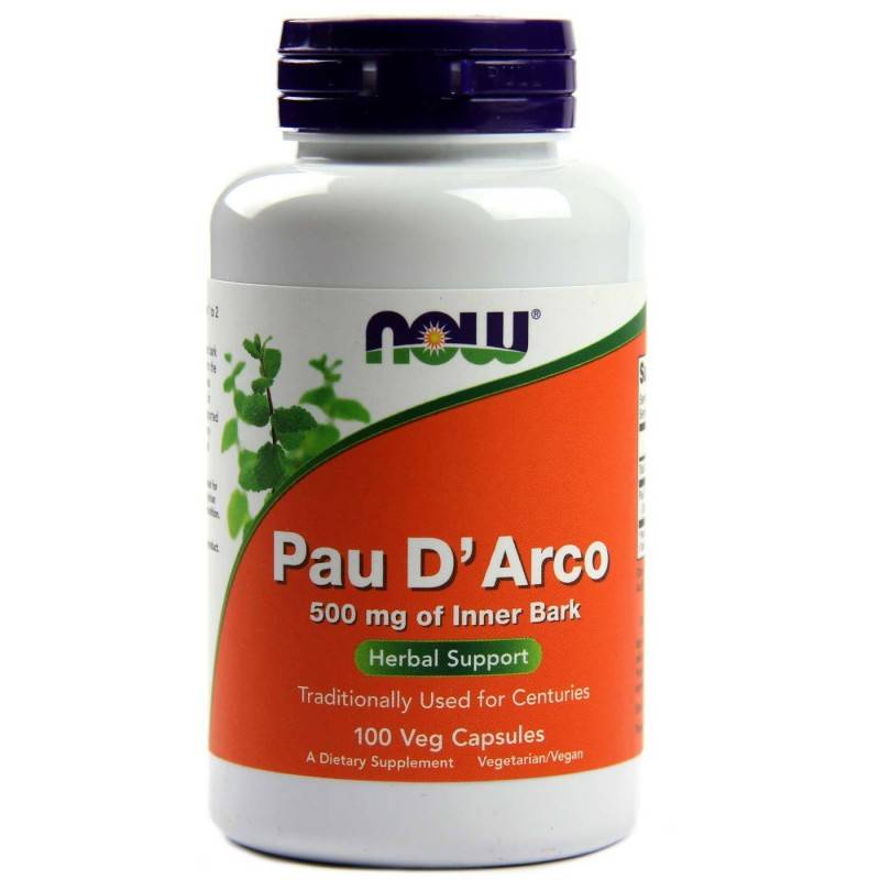 Pau D`Arco 500 мг - 100 Капсули