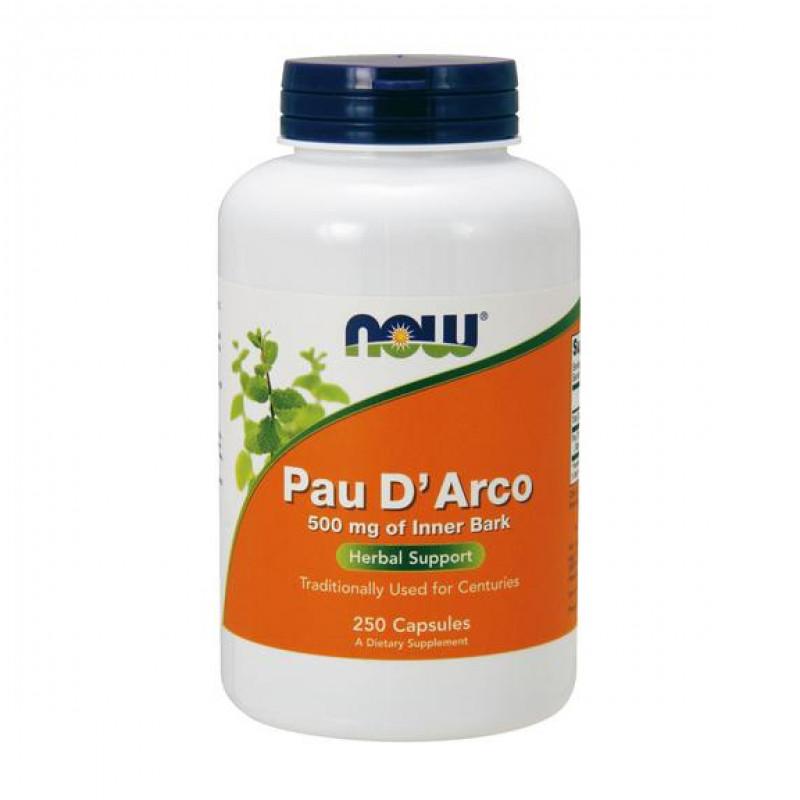Pau D`Arco 500 мг - 250 Капсули