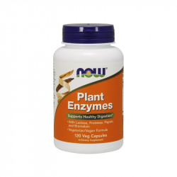 Plant Enzymes - 120 Капсули