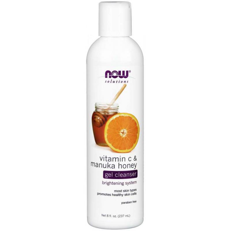 Почистващ гел с витамин С и манука мед - VITAMIN C & MANUKA HONEY CLEANSER - 118 ML