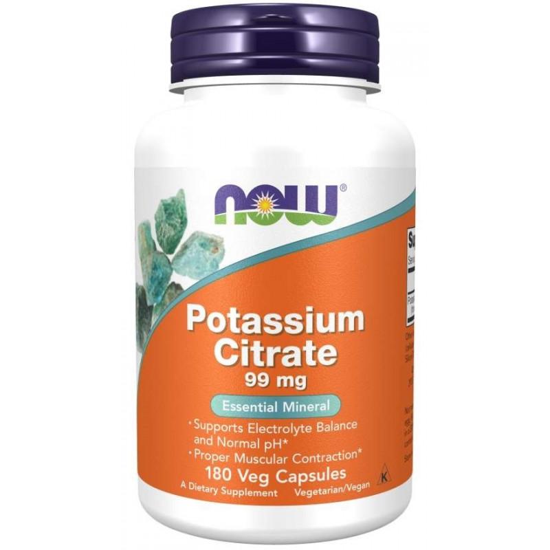 Potassium Citrate (Калий) 99 мг - 180 капсули