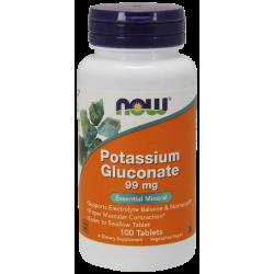 Potassium Gluconate (Калий) 99 мг - 100 Таблетки