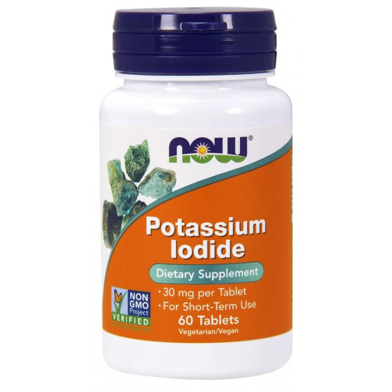 Potassium Iodide (Калий) 30 мг - 60 Таблетки