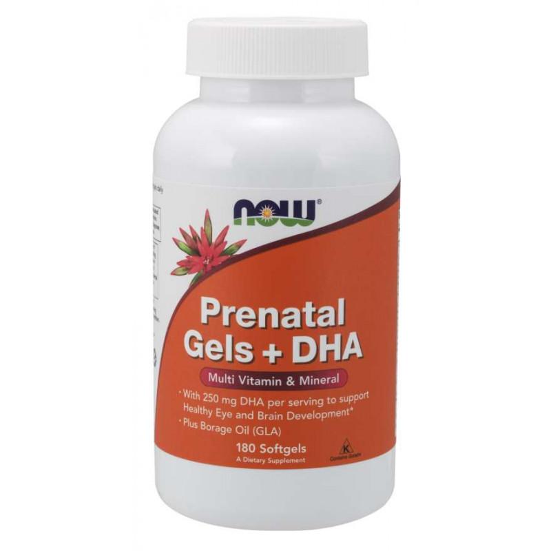Pre-Natal + DHA (Витамини за Бременни) - 180 Дражета