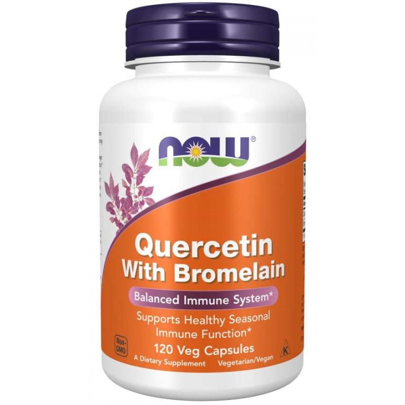 Quercetin + Bromelain - 120 Капсули