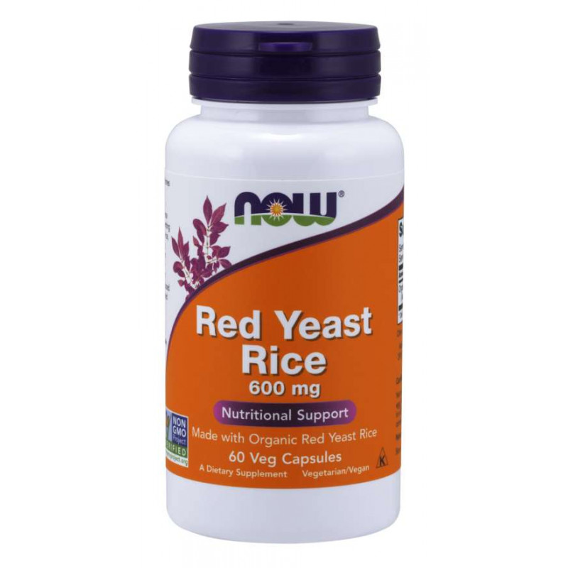 Red Yeast Rice 600 мг - 60 капсули