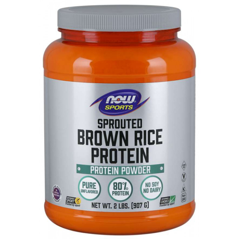 Rice Protein Brown Sprouted - Unflavored - 2 lb
