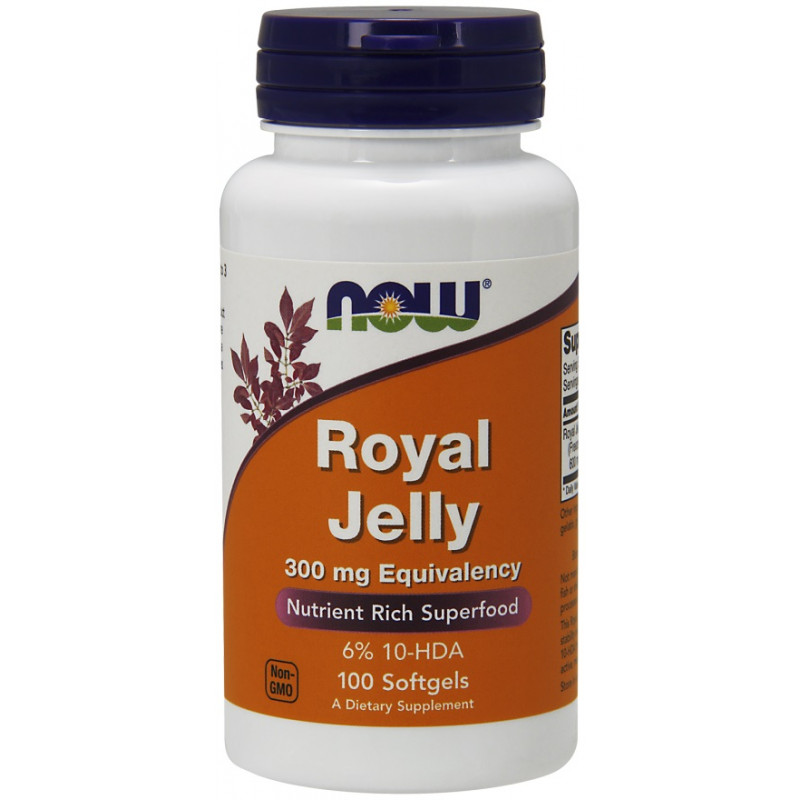 Royal Jelly 300 mg (пчелно млечице)  - 100 softgels