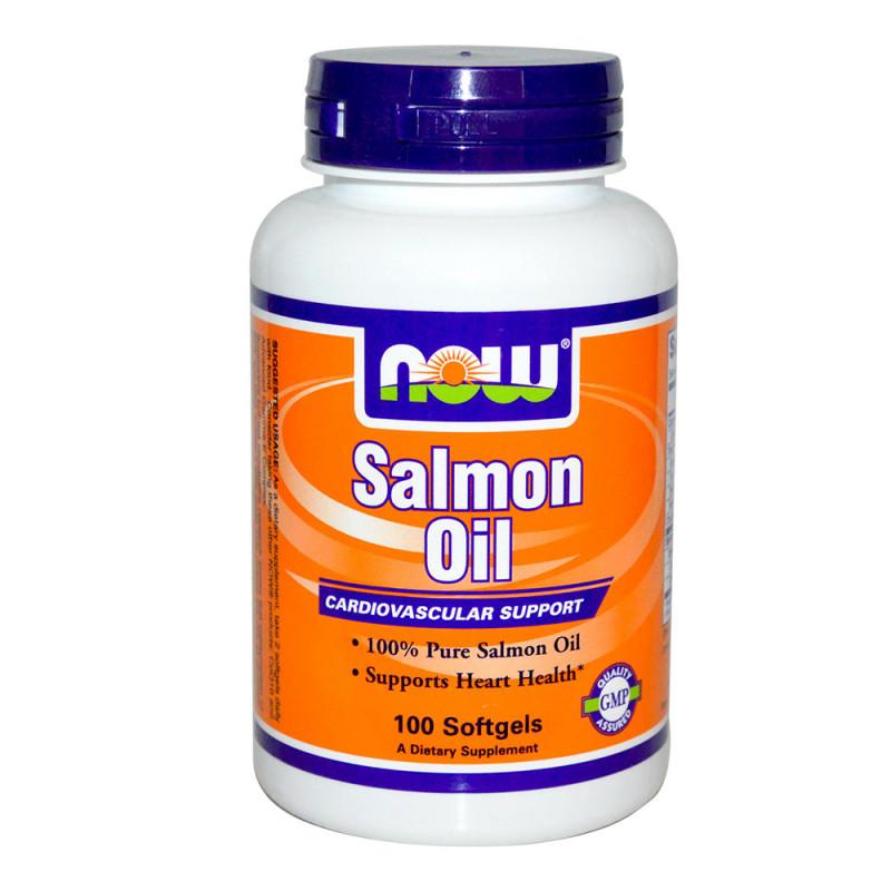Salmon Oil 1000 мг - 100 Дражета