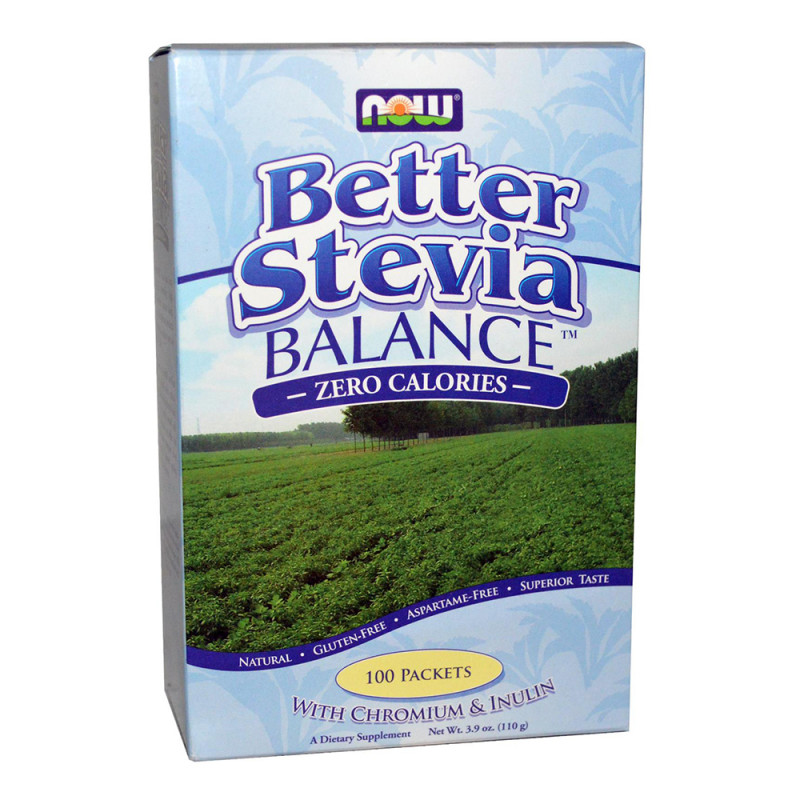 Stevia Balance (With Chromium & Inulin) - 100 Пакета